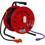 Indoor Single Phase 100 V with Earthing Exclusive Reel (Extension Cord Type)