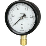 Sealed pressure gauge (A frame vertical type, ø75)