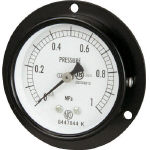 Ordinary pressure gauge (D frame embedded type, ø60)