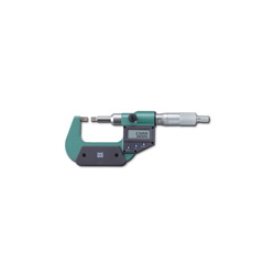 Digital Straight-Blade Micrometer: includes Main Body, Inspection Report/Calibration Certificate/Product Traceability System Chart