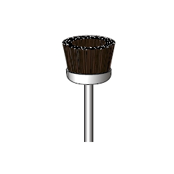 Bristle Brush (Cup Type) Shaft Diameter ⌀2.34, ⌀3.0