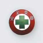 "Badge ""Safety Commissioner"" size 30 (mm) round"