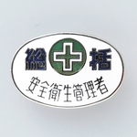 "Badge ""General Safety and Hygiene Manager"""