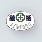 "Badge ""General Safety and Hygiene Supervisor"""