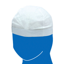 Non-Woven Fabric Hat Contains 100 pcs
