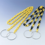 Chain Bar Cone Chain - Yellow / Yellow/Black