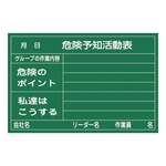Hazard Prediction Activity Black Board <Rigid Laminate Plate>