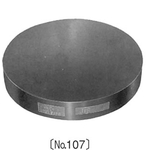 Precision Round-Shaped Surface Plate (for Lapping - No: 107)