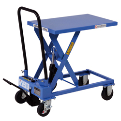 Hand-operated Lift Table Caddy