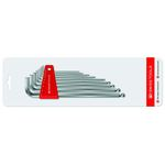 Long Hexagonal Pole Wrench Set with Hold Ring