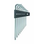 Long Hex Wrench with Ball Set (Inch)