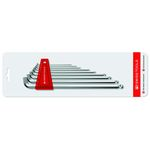 Short-Head Ball Long Hex Wrench Set