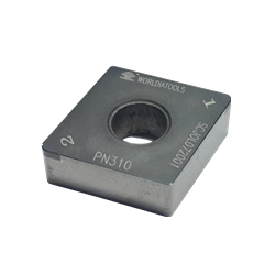 CBN Insert for Hardened Steel Processing with Rhomboid Hole 80°CNGA