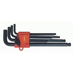 Ballpoint Hex Bar Wrench Set Black Oxide Finish
