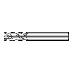 4-Flute End Mill Anti-Vibration Type GSV MILL 4000-2.5D