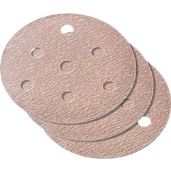 A275 Hook And Loop Disc Paper (With Holes)