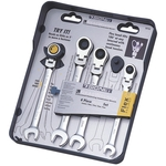 Swivel Neck Gear Wrench Set (4-Piece Set) 34744