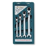 Locking Headswing Gear Wrench (Set of 4) 38040