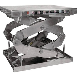 Table Lift - 2 Stage Type - Stainless Steel Specification
