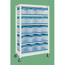 Multiple Rack, Container Storage Type (Movable Type)