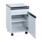 Lab Side Wall Table Option Cabinet Cart