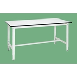 Light Duty Height Adjustable Workbench, Pearl White, Uniform Load (kg) 200, Height (mm) 740–890