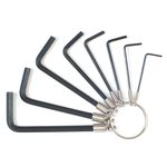 Hexagonal Bar Wrench Set, 8-piece Set