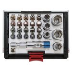 Sleek Interchangeable Bit and Socket Set