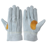 Heavy Duty Leather Gloves - 107AP Gray with Thumb Webbing