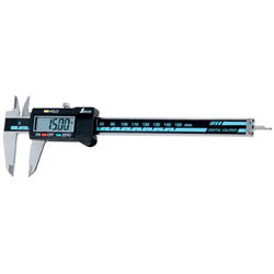 Digital calipers with large text and hold function (150 mm / 200 mm / 300 mm / 450 mm / 600 mm / 1,000 mm)