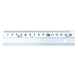 Aluminum Ruler, without Anti-Slip Pad