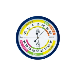 Thermometer and Hygrometer for Life Management, Round