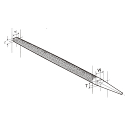 Rebar File, Elliptical