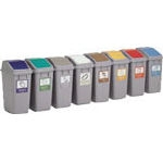 Eco Compartmentalized Trash Can 40 Lid