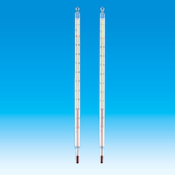 Red Liquid Double Tube Thermometer