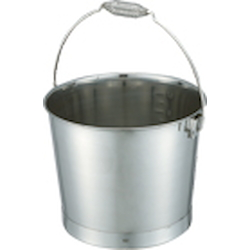 Bucket with Wire Spring Handle