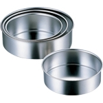 Solid Bottom Round Cake Pan 12 cm–27 cm