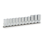 Deep Socket Set (12-point with Holder) HDL312A