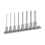 Long Hexagonal Socket Set (with Holder) HH208L
