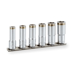 Nut Catch Deep Socket Set (Hexagonal with Holder) HSCL306