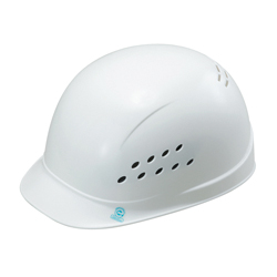 Light Work Cap Bump Cap (Made of PE Resin, with Ventilation Holes) ST-143-N