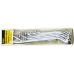 Double Box End Offset Wrench Set