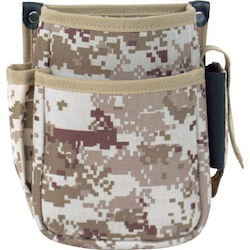 Digital camouflage tool holder (desert color) waist bag