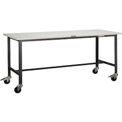 Light Work Bench with φ100 mm Casters Steel Tabletop Average Load (kg) 150