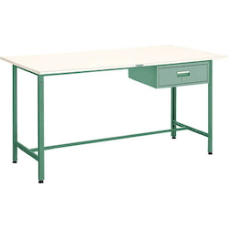 Standing Light Work Bench with 1 Drawer Plastic Panel Tabletop Average Load (kg) 300
