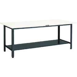 Light Work Bench with 2 Lower Shelves Steel Tabletop Average Load (kg) 400