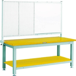 Heavy Work Bench with Front Panel / White Board Steel Tabletop Average Load (kg) 3000