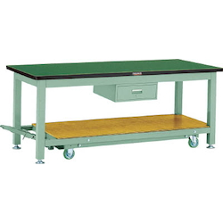 Movable Heavy Work Bench with 1 Drawer DAP Panel Tabletop Average Load (kg) 3000