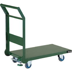Steel Silent Hand Truck, Fixed Handle Type with Air Casters and Stoppers