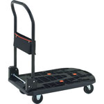 Light Weight Resin Hand Truck Cartio, Collapsible Handle Type